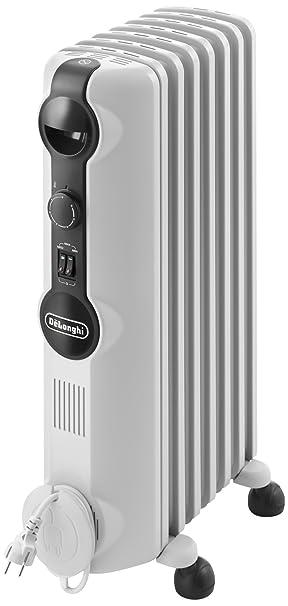 DeLonghi Radia S TRRS0715 - Radiador de aceite, 3 nieveles de potencia, termostato,