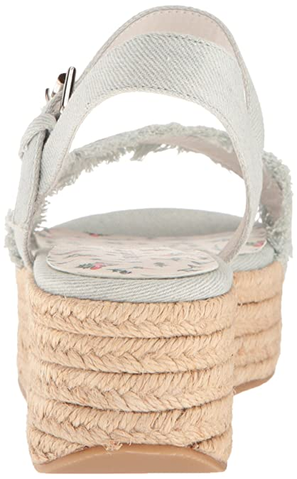 865dbfc95b75 Chinese Laundry Women s Ziba Espadrille Wedge Sandal  Buy Online at Low  Prices in India - Amazon.in