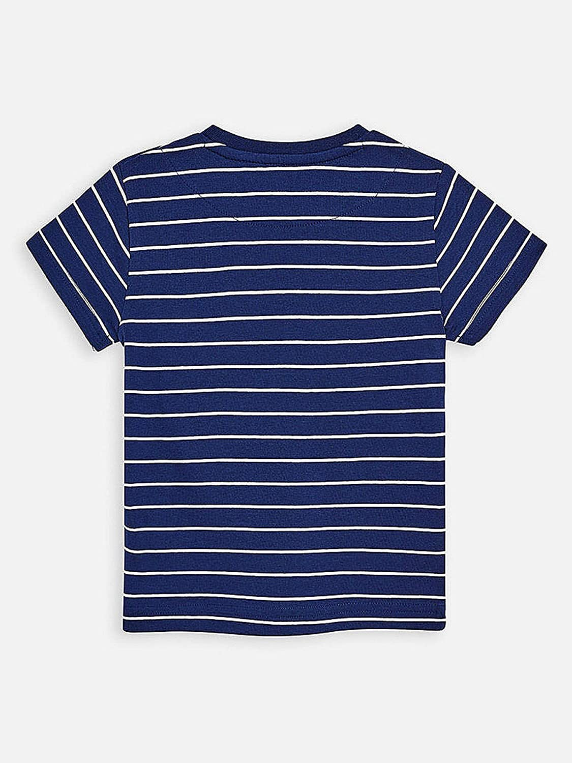 3064 Mayoral Stripes s//s t-Shirt for Boys Navy