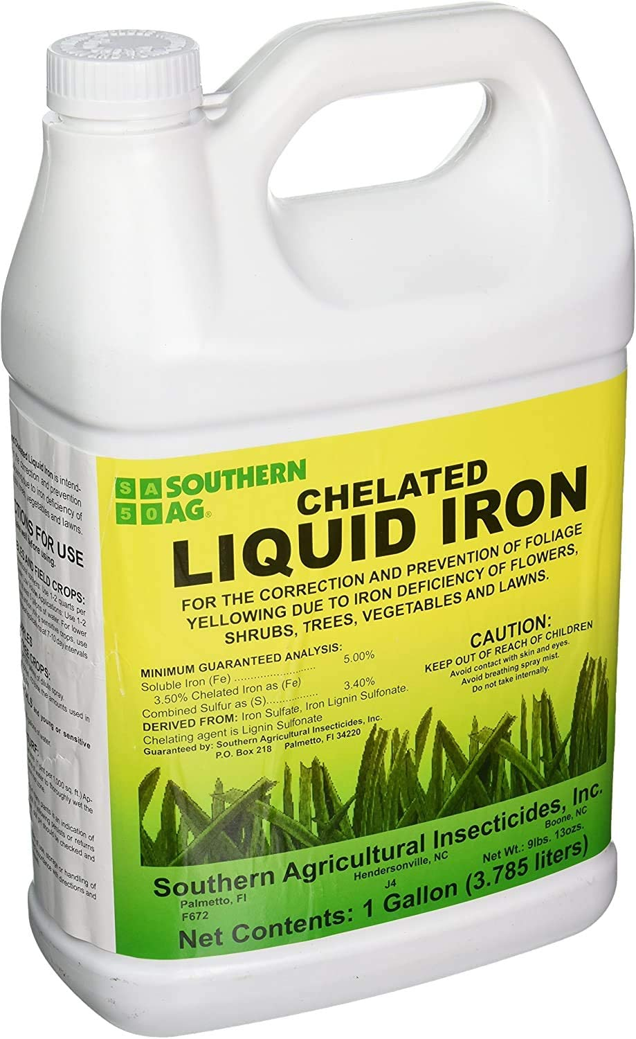 Southern Ag Chelated Liquid Fertilizer for St Augustine Grass