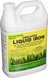 Southern Ag Chelated Liquid Iron, 128oz -1 Gallon
