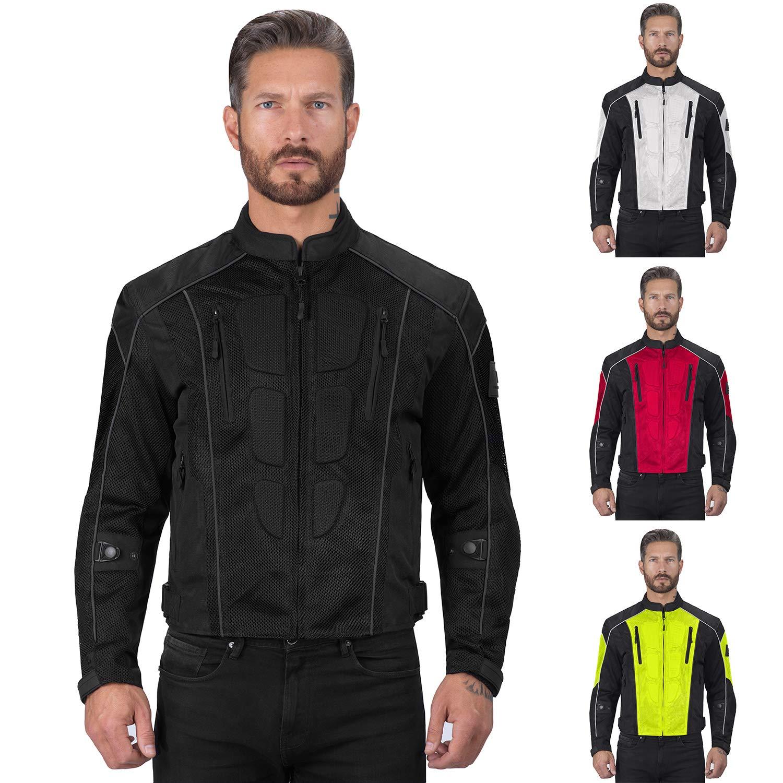 Viking Cycle Warlock Mesh Motorcycle Jacket for Men