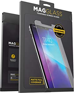 Magglass iPhone 11 Pro Matte Screen Protector (Fingerprint Resistant) Bubble-Free Anti Glare Tempered Glass Display Guard (Case Compatible)