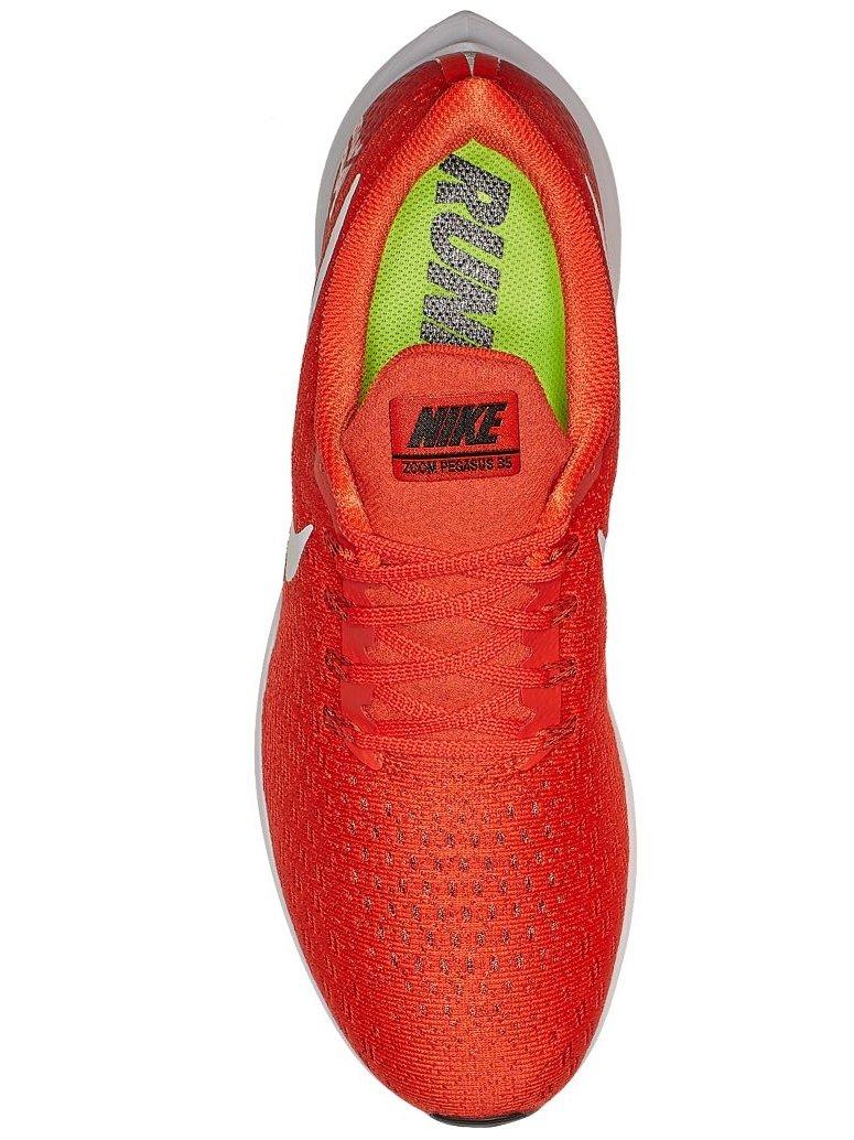 Nike Men's Air Zoom Pegasus 35 Running Shoe Orange/White/Black by Nike (Image #3)