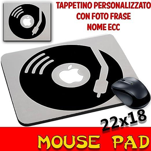 Ratón Pad vinilo disco Apple Tocadiscos alfombrilla personalizado ...