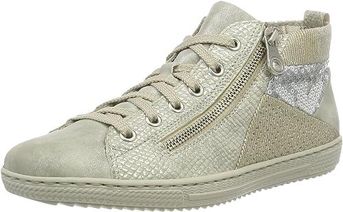 Rieker L9446 Damen Hohe Sneakers: : Schuhe DNvQ6