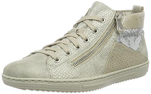 Rieker L9446 Damen Hohe Sneakers
