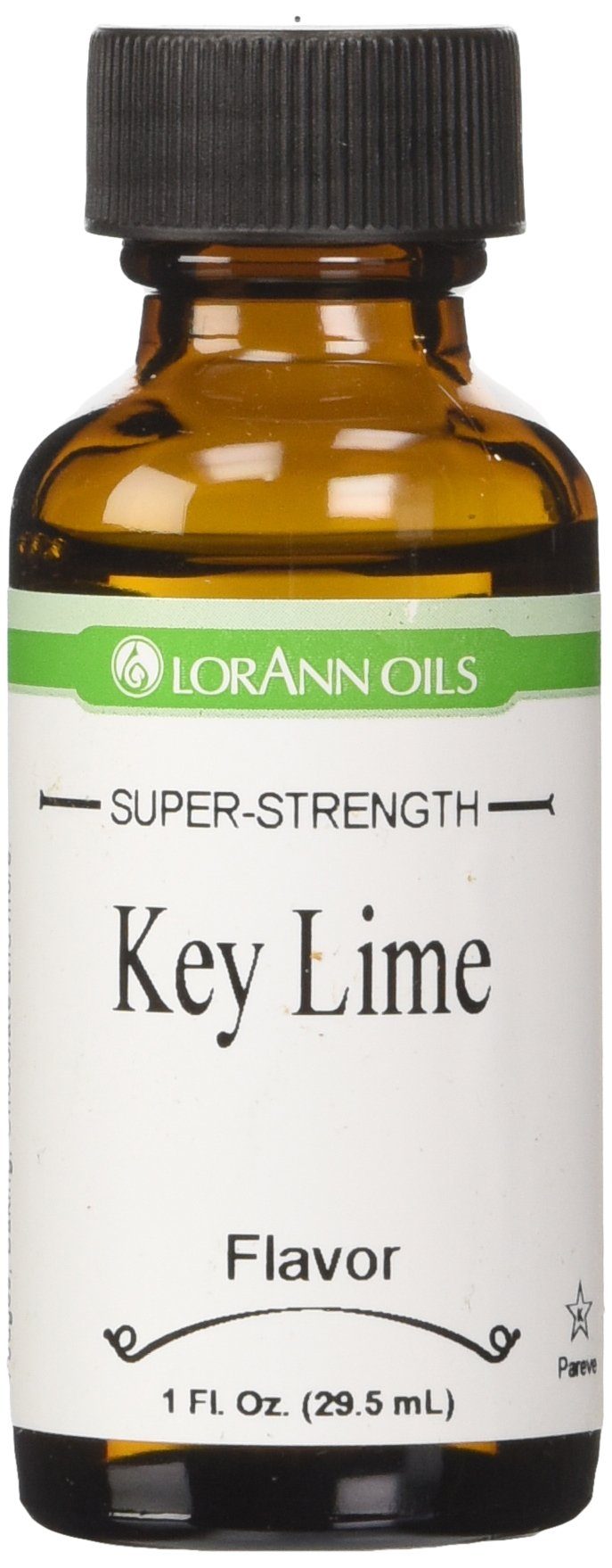 LorAnn Natural Flavoring Oils, Natural Key Lime Oil, 1-Ounce Bottles (Pack of 4)