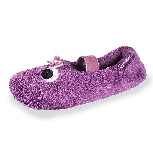 Isotoner - Zapatillas de Estar por Casa Niñas, Morado (Morado), 29/30 EU: Amazon.es: Zapatos y complementos