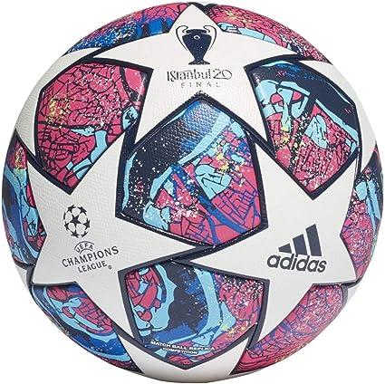 adidas Fin ist COM Balón de Fútbol, Mens, Top:White/Pantone/Glory ...