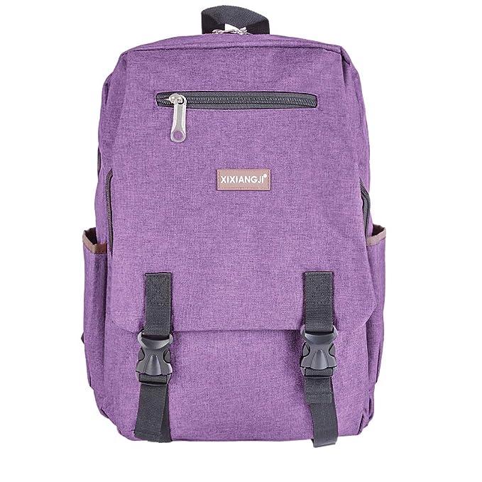 Mochilas Escolares Juveniles Chico Mochila Cartera Escolar Casual de Lona Bolsa Portátil Backpack Laptop Mochila de Viaje Negocios para Adolescentes: ...