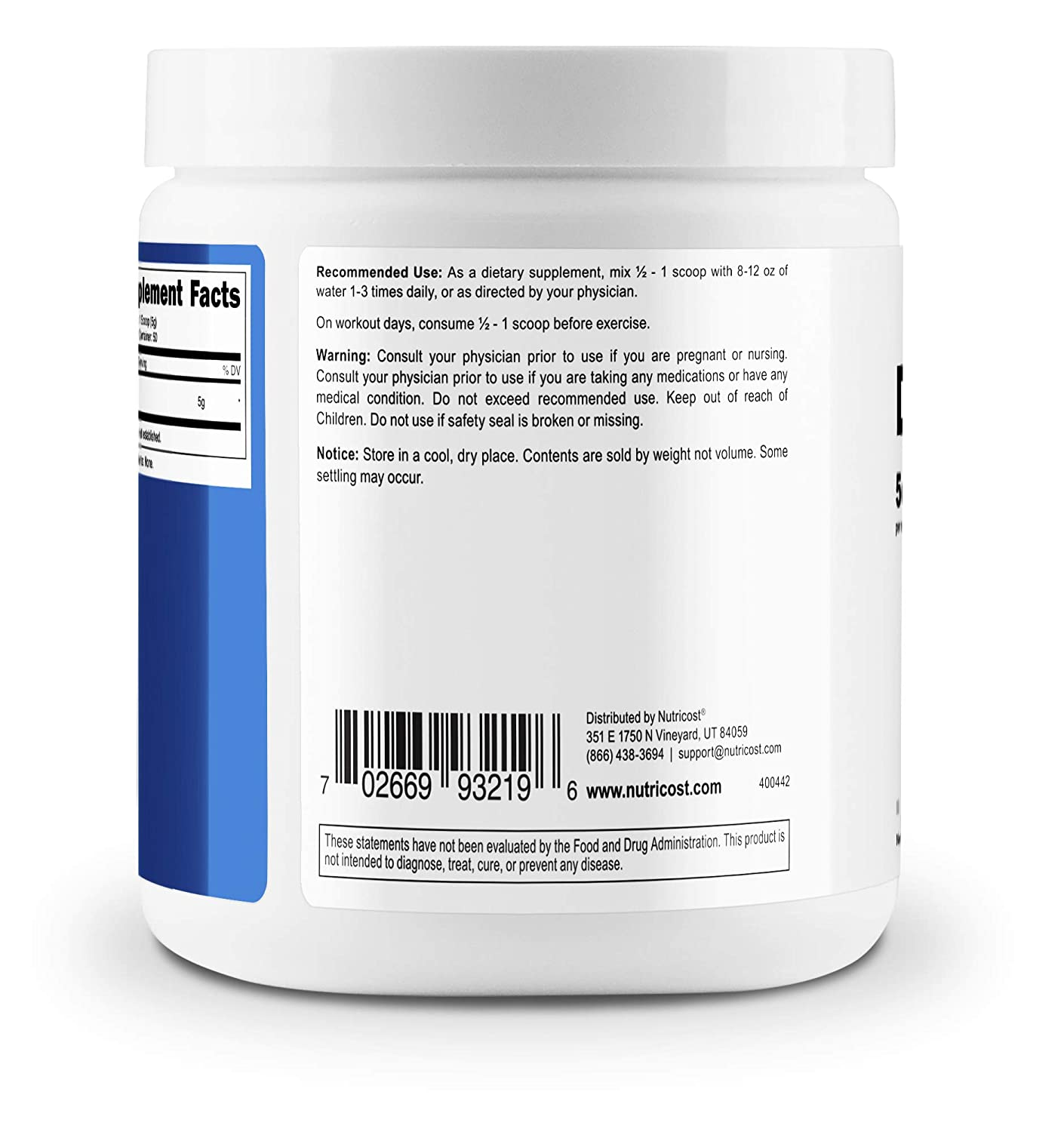 Nutricost Pure D-Ribose Powder (250 Grams) D-Ribose ...