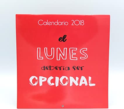 Calendario de pared Divertido 2018 marca Edicards con fotografías ...
