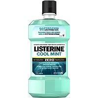 Listerine Zero Alcohol Less Intense Mouthwash, 1 Litre