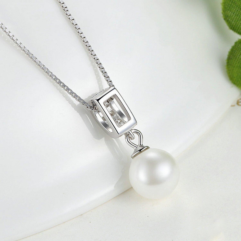 MMC Womens Necklaces Pendants Wedding Pearl Silver Jewelry