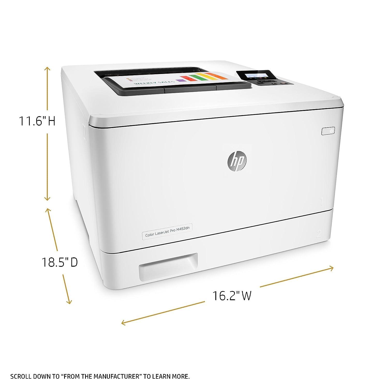 HP Laserjet Pro M452dn Color Printer, Renewed CF389A