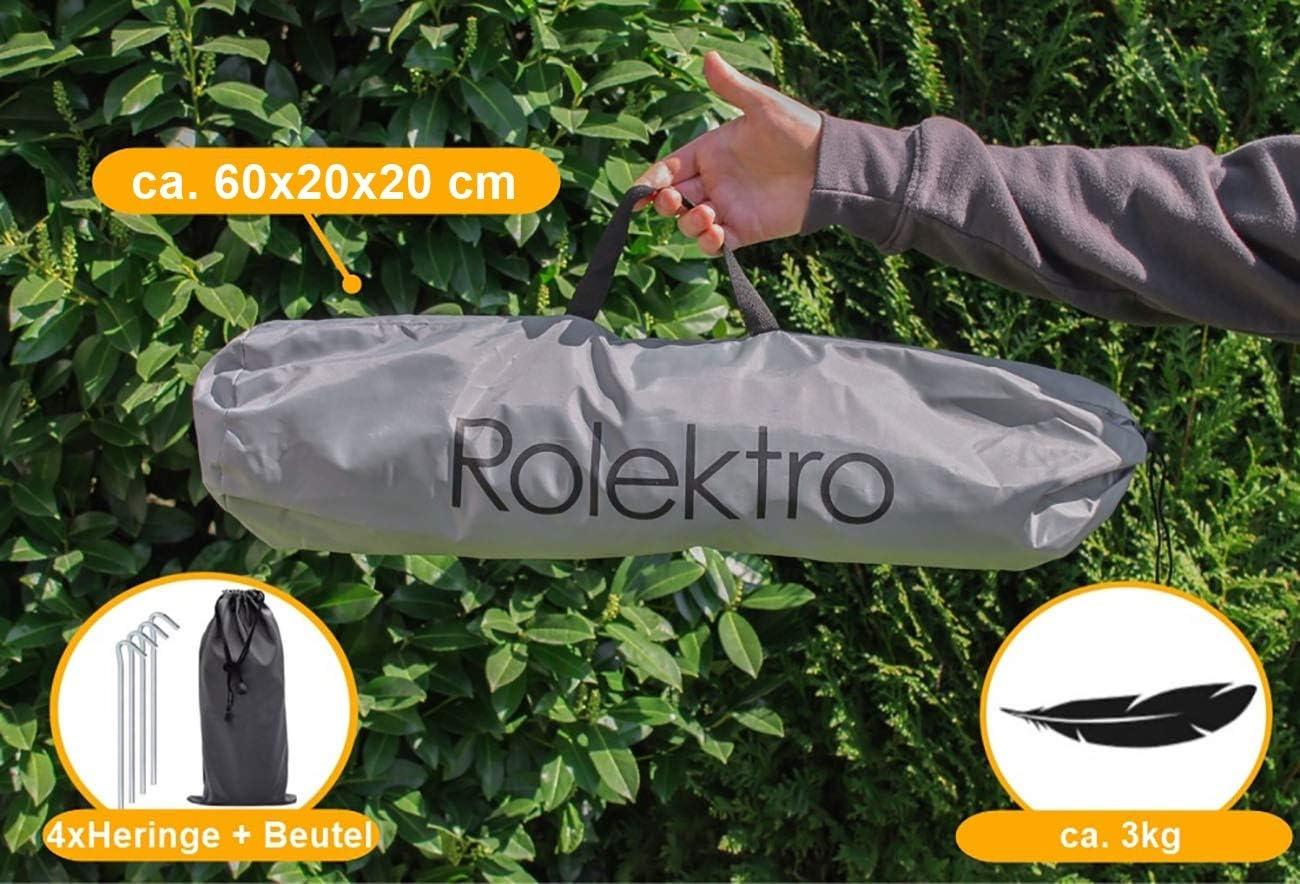 Rolektro Tente de protection pour v/élo /électrique scooter Trike Quad