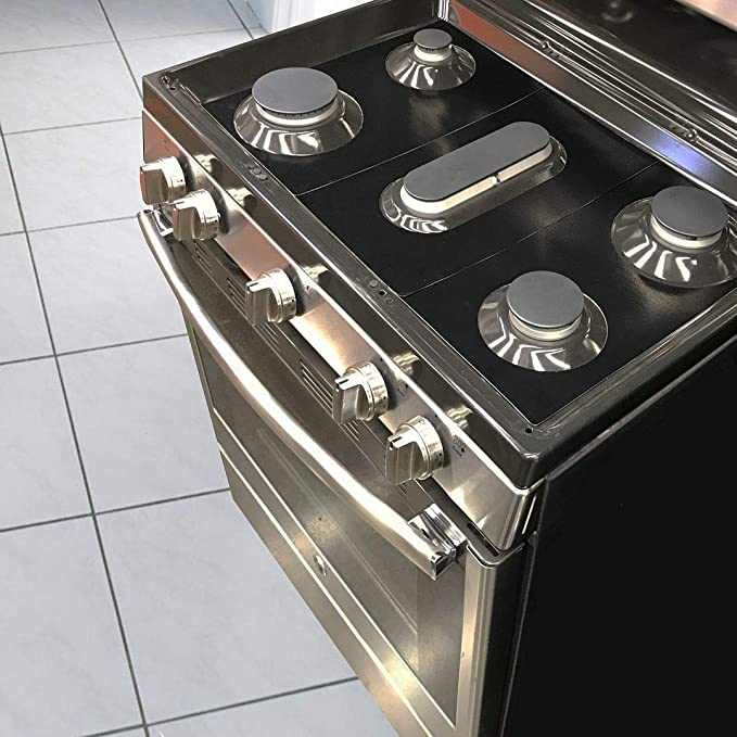 LG Gas Ranges Stove Protector Liners Compatible with LG Stoves Easy Cleaning Liners for LG Compatible Model LDG3015SB Customized
