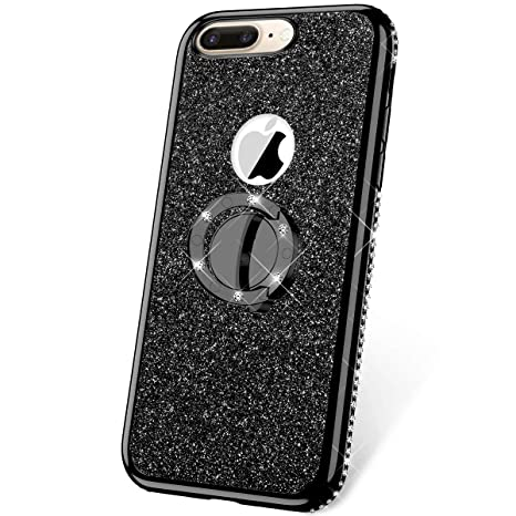 JAWSEU COVER IPHONE 6/6S Custodia Silicone TPU Nero Ultra Sottile