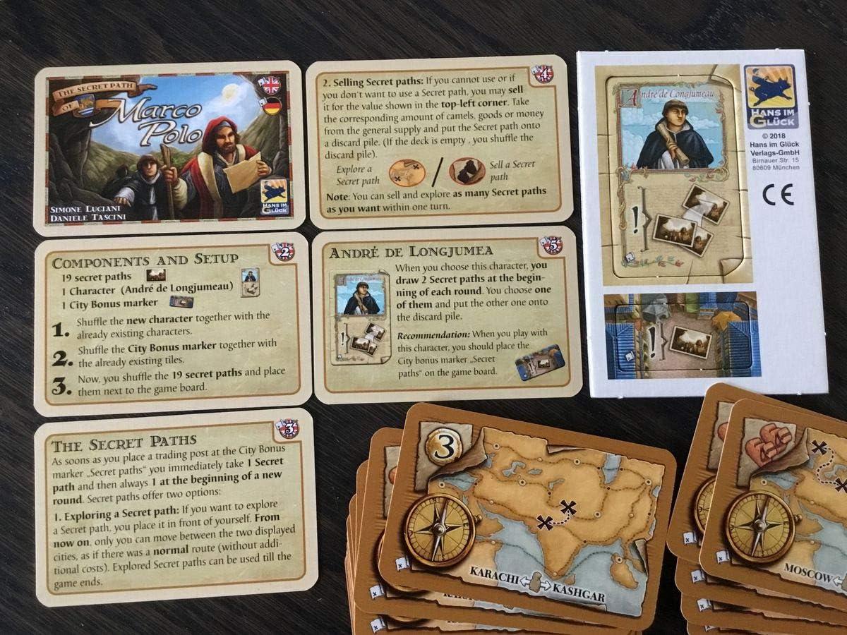 Marco Polo: Mini expansión The Secret Paths: Amazon.es: Juguetes y juegos