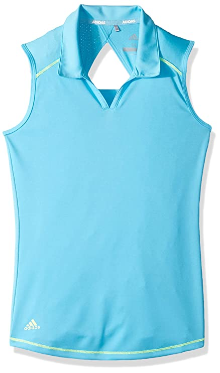 bfccf16467045 Amazon.com   adidas Golf Fashion Sleeveless Polo   Sports   Outdoors