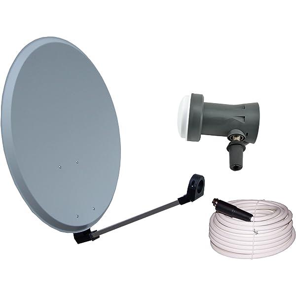 Vistron – Antena parabólica y 45 cm Con Sharp LNB 20 m ...