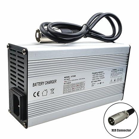 Amazon.com: 58,8 V 4 A Cargador para 14S 51.8 V/50 V/52 V ...