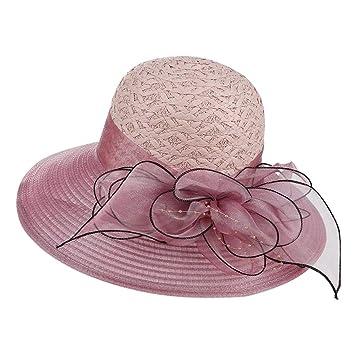 WFYJY-Cubren la Cara protección Solar Gorra protección UV Sombrero ...