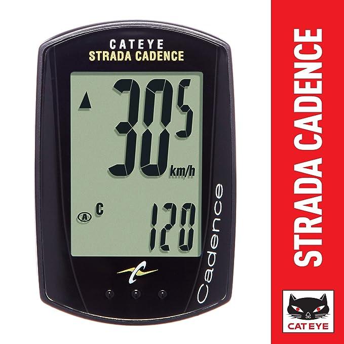 Cuentakilómetros Cateye Strada Cadence 2017