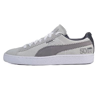Puma Classic x Michael Lau Sample Suede White/Steel Gray   366170 01