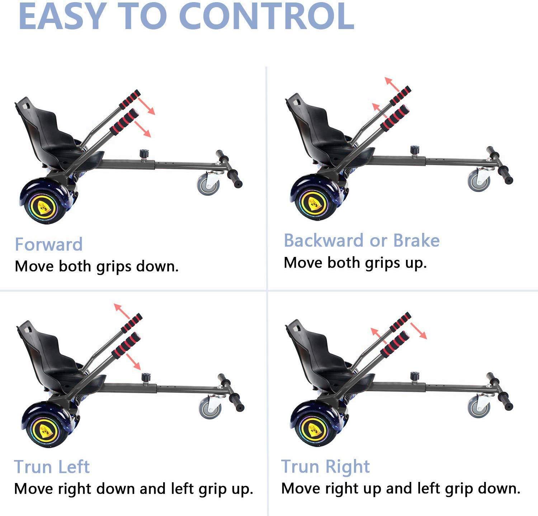 Amazon.com: ¡Nuevo! Hoverboard Go Cart, Hoverboard ...