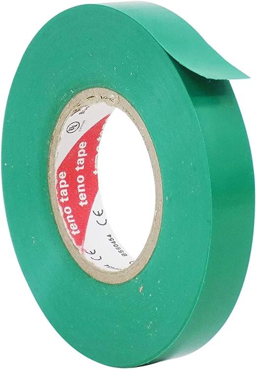 "10 Rolls Green Vinyl PVC Electrical Tape 3//4/"" x 66/' Adhesive Free Shipping"