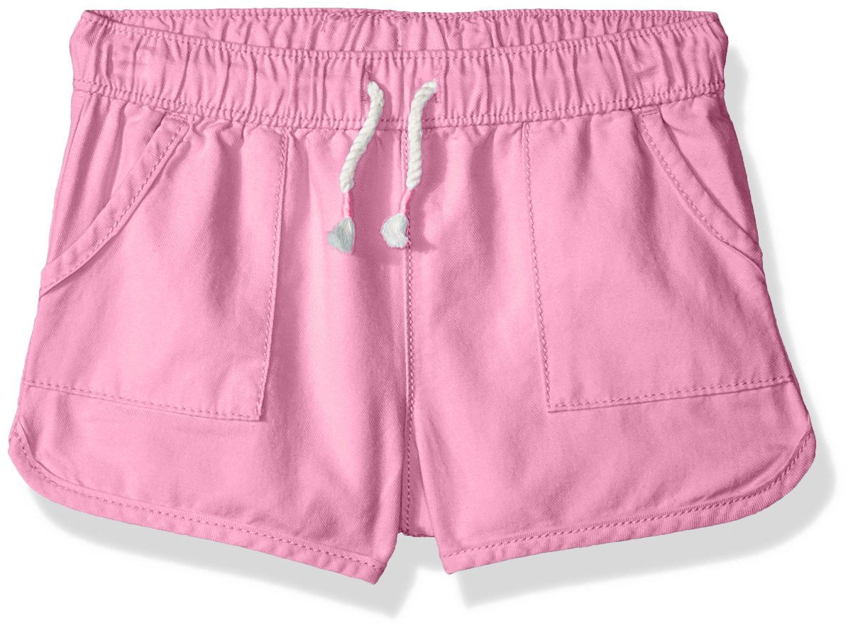 Osh Kosh Girls' Toddler Pull on Shorts, Raspberry Rose, 3T