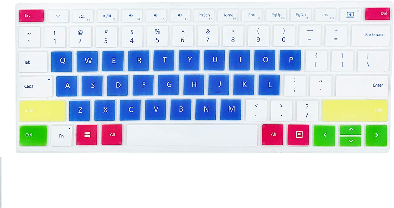 Keyboard Cover Design for 2019 2018 Surface Laptop 2 13.5