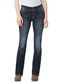 c0c8033843 WallFlower Women s Instastretch Luscious Curvy Bootcut Jeans