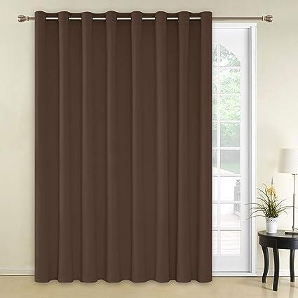 Amazon Com Deconovo Decorative Thermal Insulated Blackout Curtain