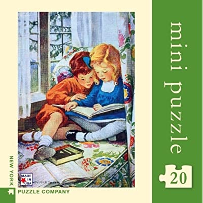 New York Puzzle Company - Vintage Images Window Seat - 20 Piece Jigsaw Puzzle: Toys & Games