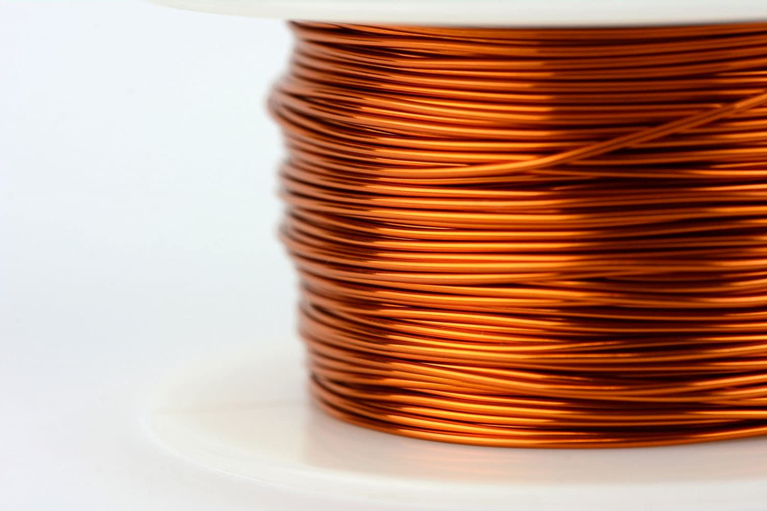 8 oz 198 ft 200/°C Magnetic Coil Winding TEMCo 21 AWG Copper Magnet Wire