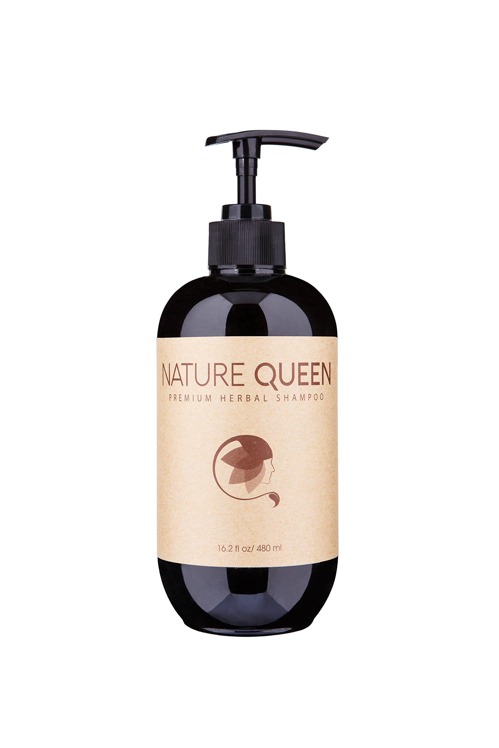 Amazon.com : NATURE QUEEN Herbal Shampoo + Conditioner Set ...