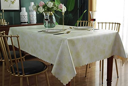 Riegel Cotton Blend Satin Band Beauti-Damask Square Tablecloth D.Rose various Sz