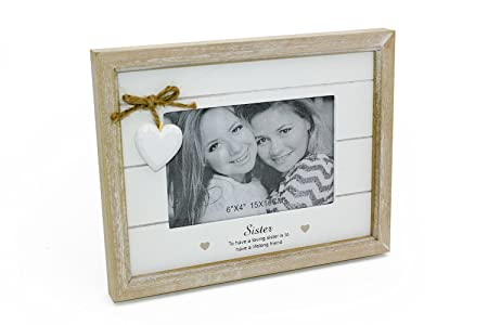 ukgiftstoreonline Vintage Shabby Chic Sister Photo Frame Gift With ...