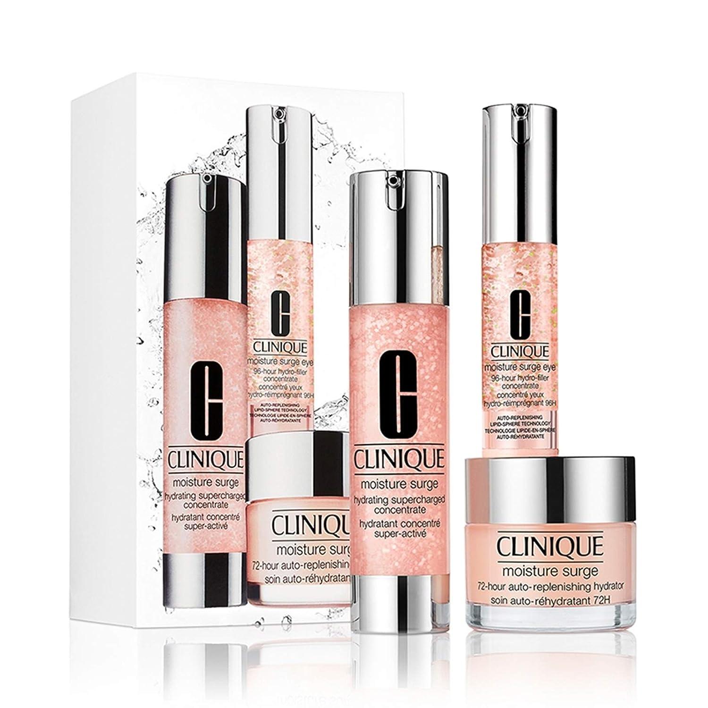Clinique Moisture Surge Best Sellers Supercharged 3pcs Kit De Regalo De Tamaño Completo Set 111 Valor Beauty
