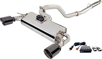Amazon Com Xforce 3 Cat Back Exhaust With Varex Muffler