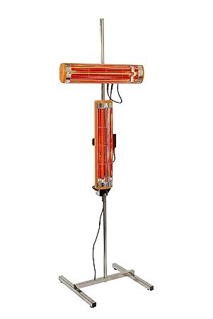 Fast mover Tools, 2 kW por infrarrojos secador de pintura con soporte y temporizador: Amazon.es: Coche y moto