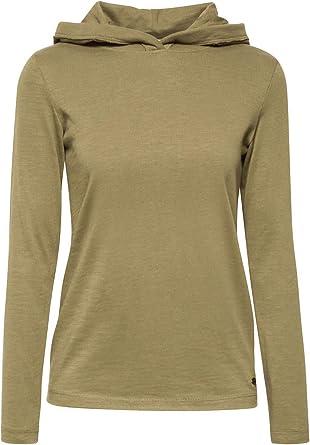 edc by Esprit - Sudadera con Capucha (algodón orgánico, 100% algodón) Khaki Green XL: Amazon.es: Ropa y accesorios