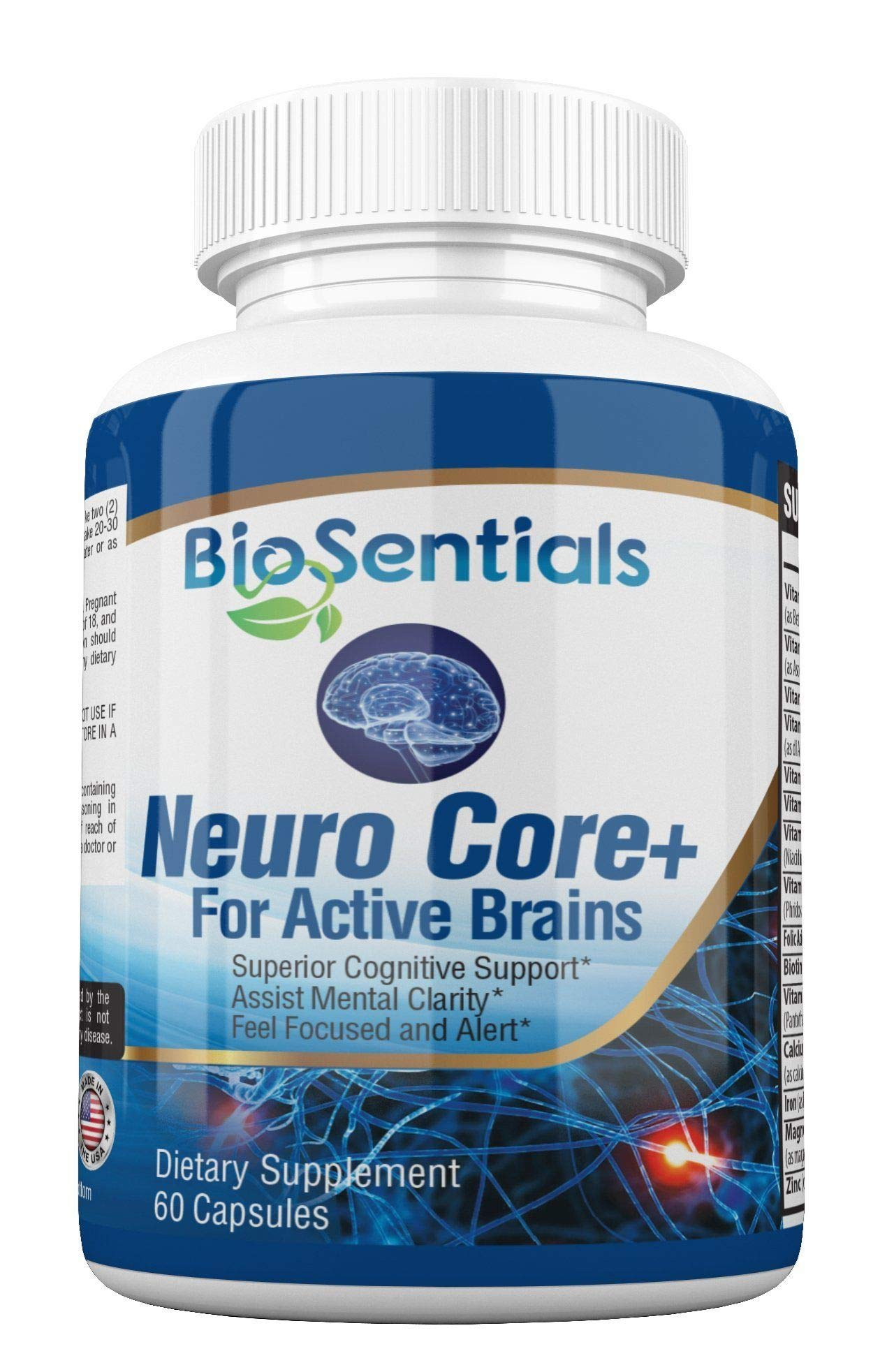 Amazon Com Neurocore The Extra Strength Nootropic Brain Booster