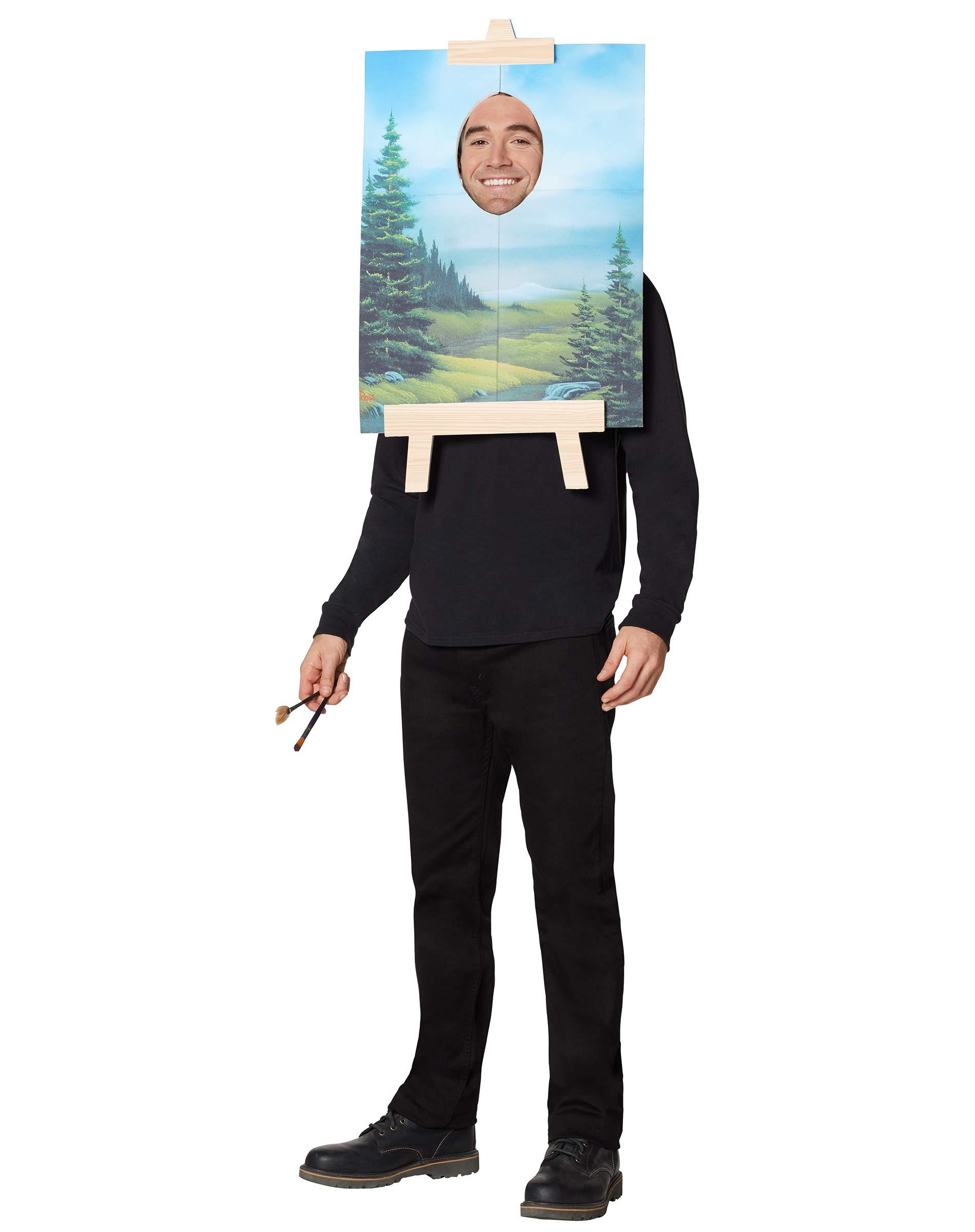 Bob Ross Painting Costume - Firefly by Spirit Halloween (Image #1)