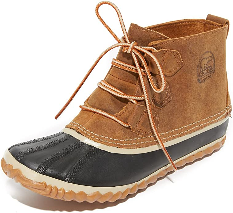 Sorel Women's N About Leather Rain Snow Boot