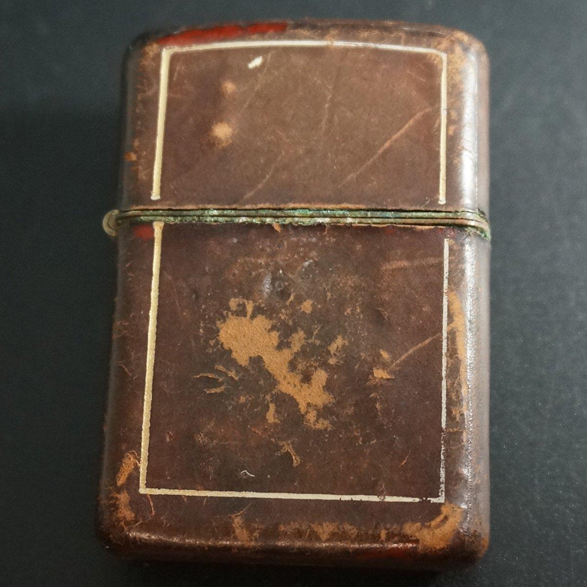 zippo 革巻き 1950年代 USED B073B1VJGP