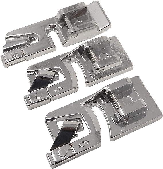 Janome Säumer 3mm // 4mm für Nähmaschinen Juki AEG